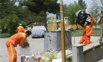 جمعآوری 988 تن زباله از نواحی منطقه یک شهر قدس
