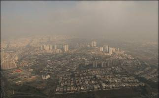 هوای تهران آلوده است نفس عمیق نکشید
