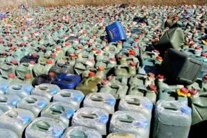 ۲۰ هزار لیتر سوخت قاچاق در زاهدان کشف شد