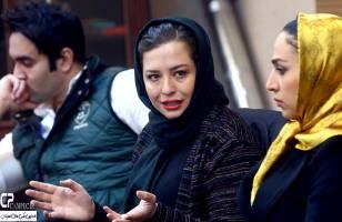 مهراوه شریفی نیا در نشست خبری سریال کیمیا | گزارش تصویری