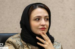 گلاره عباسی در نشست خبری سریال کیمیا | گزارش تصویری
