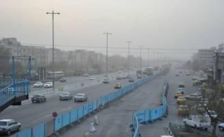 کیفیت هوای کرج ناسالم است