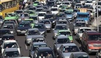 ترافیک سنگین پایتخت در شب یلدا