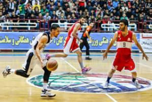 برد مدعیان و ادامه صدرنشینی پتروشیمی در لیگ برتر بسکتبال