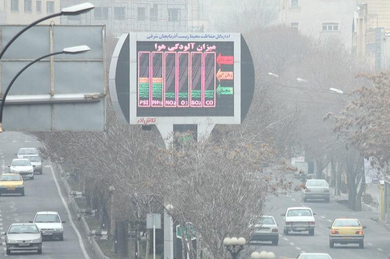 معدل کشور درباره وضعیت هوای کشور
