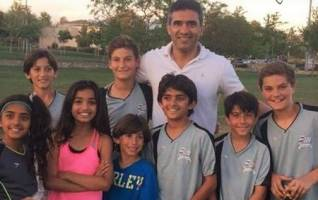 احمدرضا عابدزاده و نوجوان های آمریکایی