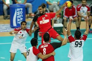 پیروزی هندبالیستهای ایران بر لبنان