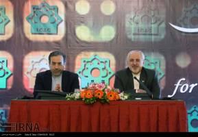 دیدار ظریف با سفرای خارجی مقیم تهران