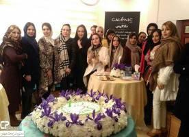 تصاویر بازیگران زن در افتتاحیه یک فروشگاه لوازم آرایشی!