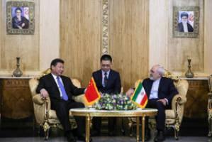 ایران و چین بدنبال افزایش تعاملات در دوره پساتحریم