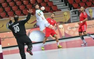 پیروزی هندبال ایران بر عمان