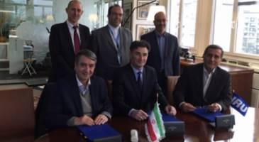 توافق همکاری های حمل و نقل جاده ای بین ایران و اتحادیه جهانی حمل و نقل جاده ای
