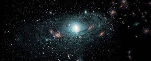 کشف صدها کهکشان در محله مخفی کهکشان راه شیری
