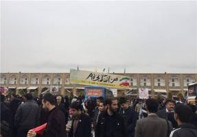 مردم اصفهان حماسه حضور آفریدند