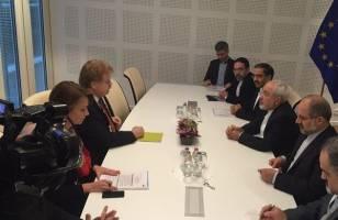 ظریف با رئیس کمیته روابط خارجی پارلمان اروپا دیدار کرد