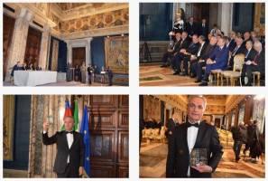 مهمترین جایزه اقتصاد ایتالیا برای رئیس اتاق مشترک ایران و ایتالیا