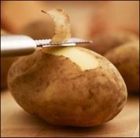 موی مشکی با پوست سیب زمینی!