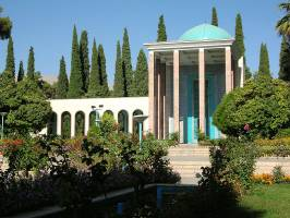 آرامگاه سعدی، تلفیق زیبایی از معماری و ادبیات ایران