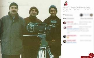 محمدرضا هدایتی، طهماسب و جبلی در یک قاب / عکس