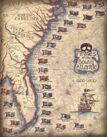 نقشه ای جالب از محدوده فعالیت دزدان دریایی مشهور