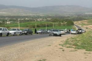 تصادف زنجیره ای در زنجان یک کشته و دو مصدوم بر جای گذاشت