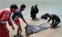 جسد یک جوان در رود کارون