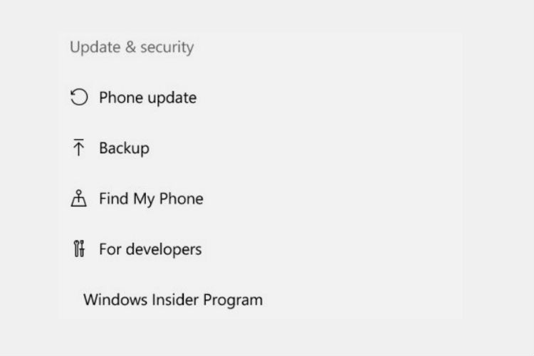 آیکون های تنظیمات در بیلد 14342 ویندوز 10 موبایل بروزرسانی شد