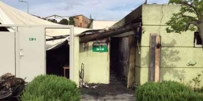 اولاند: عاملان آتش سوزی مسجد كُرس به سرعت شناسایی شوند