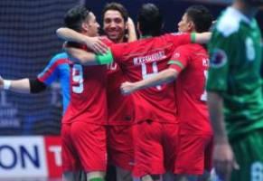 پرداخت پاداش قهرمانی تیم ملی فوتسال در آسیا