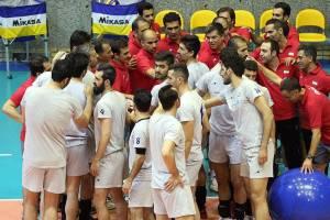 تیم ملی والیبال بازیکن مصدومی ندارد
