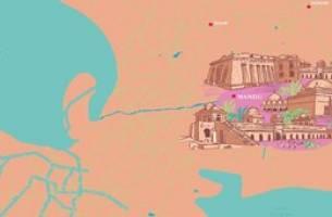 نقشه شهرهای متروکه جهان