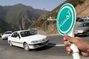 اعمال محدوديت هاي ترافيكي در محور رشت - قزوين و آستارا - اردبيل
