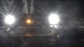 ماهواره بر اسپيس ايكس سالم فرود آمد