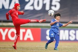 دختر فوتبالیست ایران بهترین بازیکن فستیوال آسیا شد