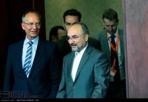 دیدار خزاعی با وزير امور اقتصادي هلند