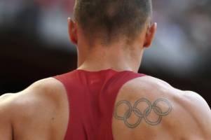 حمایت IOC از تتوی حلقههای المپیک بر روی بدن ورزشکاران