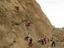 تور دوره آموزش فرود با طناب