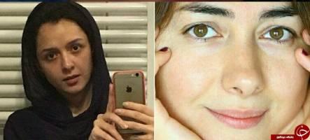سلفی بدون آرایش هانیه توسلی و ترانه علیدوستی! + عکس