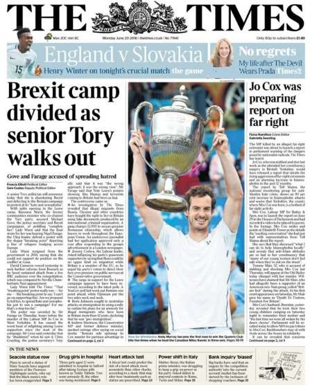 سرخط روزنامههای انگلیس- 31خرداد