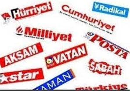 سرخط روزنامه های ترکیه-اول تیرماه