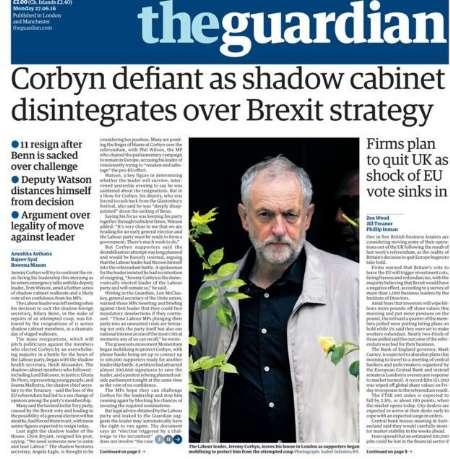 سرخط روزنامههای انگلیس-هفتم تیرماه