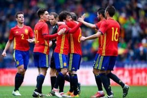 اسپانیا با ۶ گل کره جنوبی را در هم کوبید