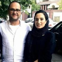 سلفی جدید رامبد جوان و نگار جواهریان! خرداد 95