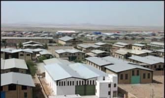 شهرک صنعتی خاوران و چهاردانگه در خواب زمستانی