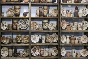 نمایشگاه صنایعدستی در مجموعه فرهنگی «عین القضات» همدان دایر شد