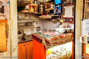 کوچک ترین قهوه خانه دنیا در بازار تهران