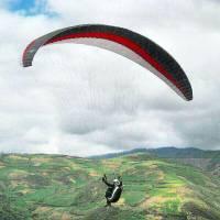 آموزش پرواز باپاراگلایدر