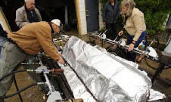 پناهگاه اضطراری ضدحریق ناسا برای محافظت از آتشنشانان
