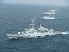 برگزاری پاکستان رزمایش دریایی بین المللی