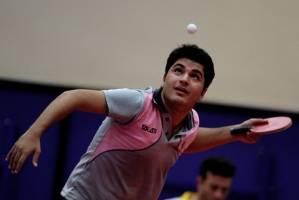 پیروزی «طاهرخانی» در تور جهانی تنیس روی میز بلاروس